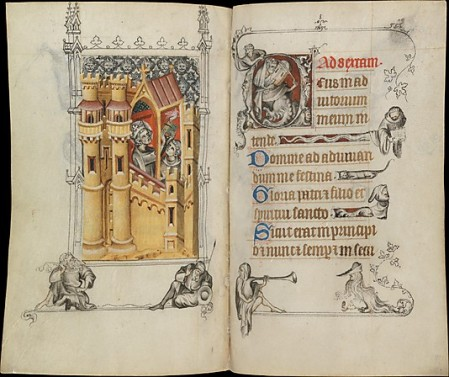 The Hours of Jeanne d'Evreux, photo from metmuseum.org
