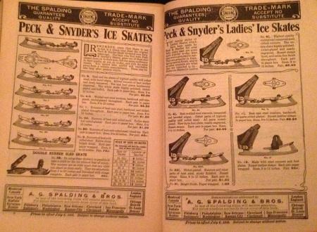 """Peck & Snyder's Ice Skates"""