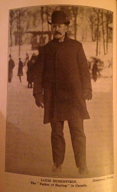 """Louis Rubenstein. The 'Father of Skating' in Canada."""