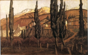 "Roger Fry, ""Turkish Landscape"""