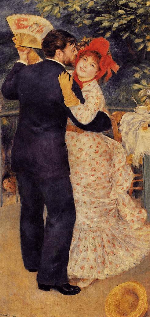 Dancers and Skaters by Renoir