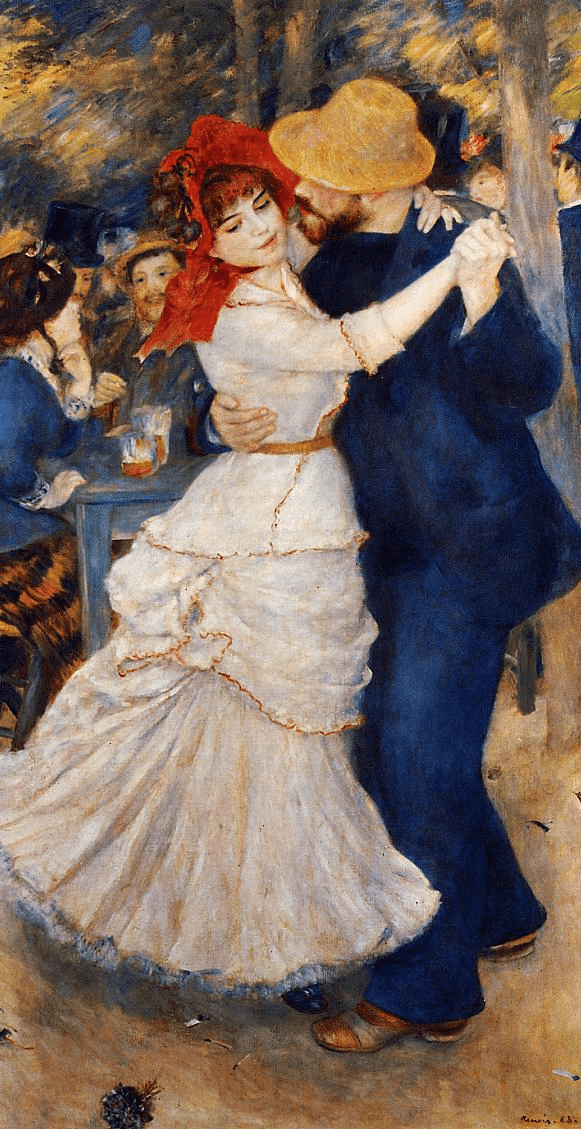 Dancers and skaters by Renoir