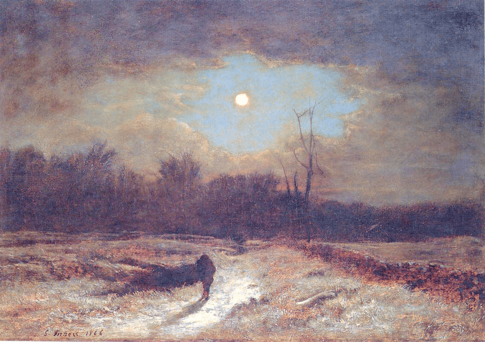 Christmas Eve by George Inness.