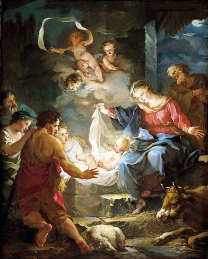 Jean Baptiste Marie Pierre - Nativity