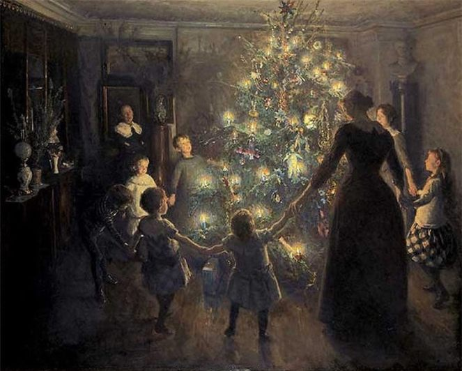 Merry Christmas by Viggo Johansen