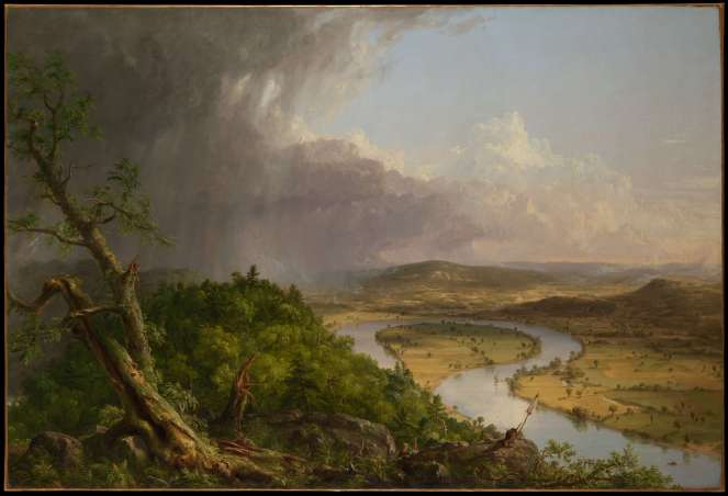 Thomas Cole - View From Mount Holyoke, The Oxbow