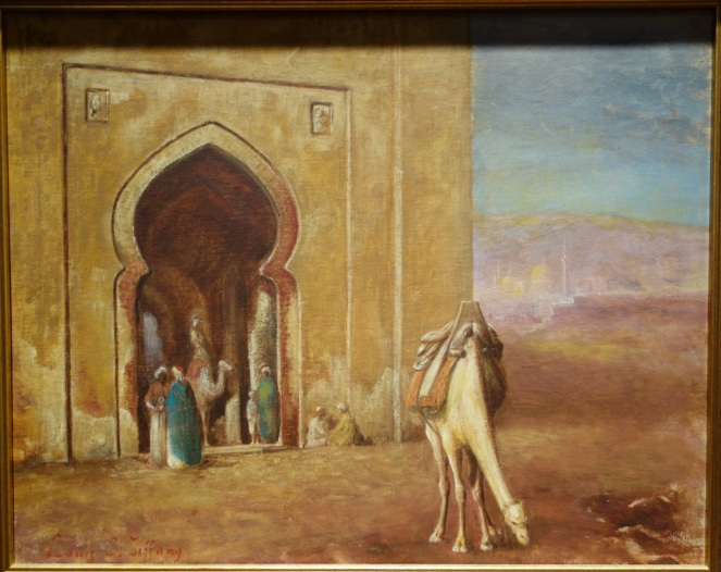 grazing_camel_at_mosque_by_louis_comfort_tiffany2c_undated2c_oil_on_canvas_-_new_britain_museum_of_american_art_-_dsc09650
