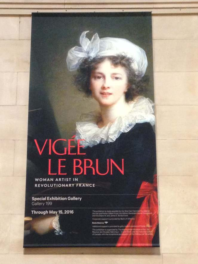 Elizabeth Vigee Le Brun at the Met