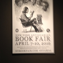 The 2016 New York Antiquarian Book Fair was held from April 7-10 at the Park Avenue Armory in New York City.