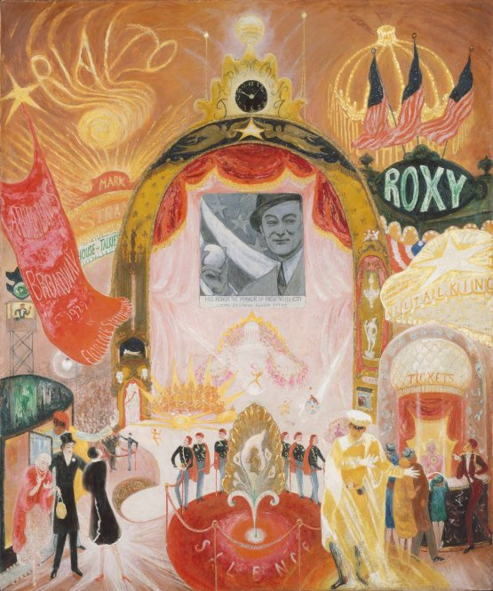 27the_cathedrals_of_broadway27_by_florine_stettheimer2c_1929
