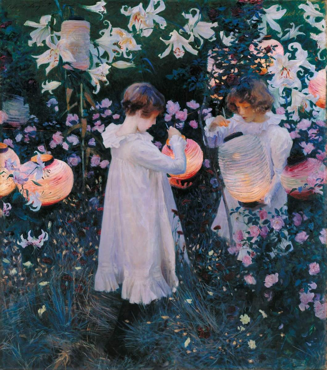American Art of the Week: Carnation, Lily, Lily, Rose by John Singer Sargent