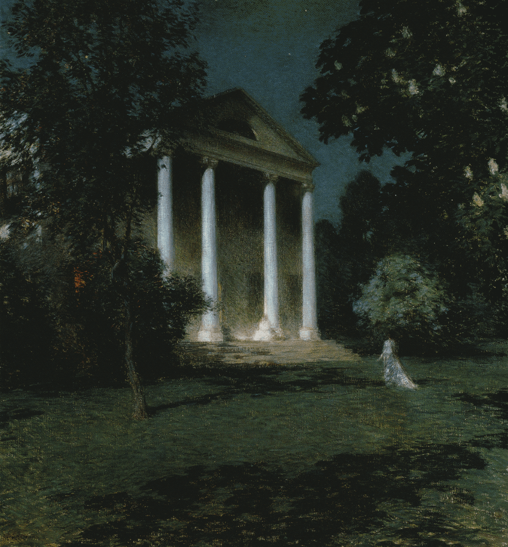 May Night by Willard Metcalf