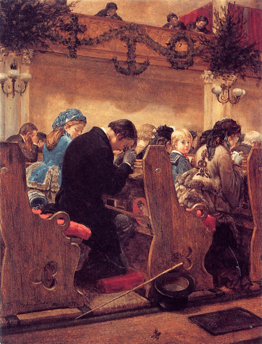 Christmas Prayers by Henry Bacon