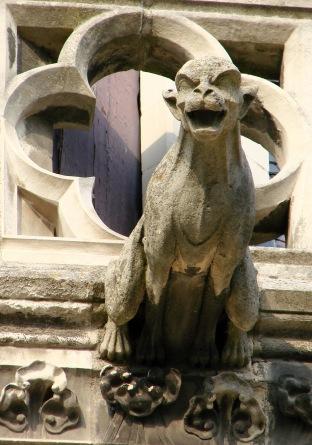 Amiens Cathedral gargoyle