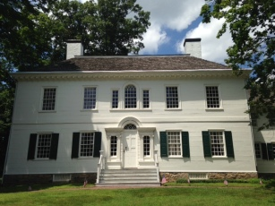 Ford Mansion (Washington's Headquarters). Morristown National Historical Park in Morristown, NJ. 1770s.