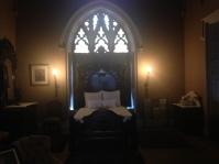 Mrs. Gould's bedroom. Lyndhurst in Tarrytown, New York.