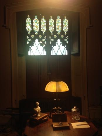 Mr. Guld's office at Lyndhurst.