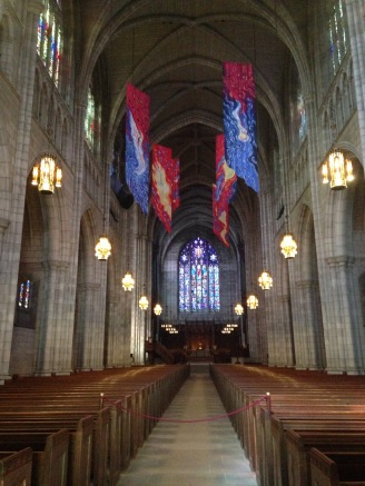 Princeton University Chapel, Princeton, NJ. Designed by Ralph Adams Cram, 1920s.