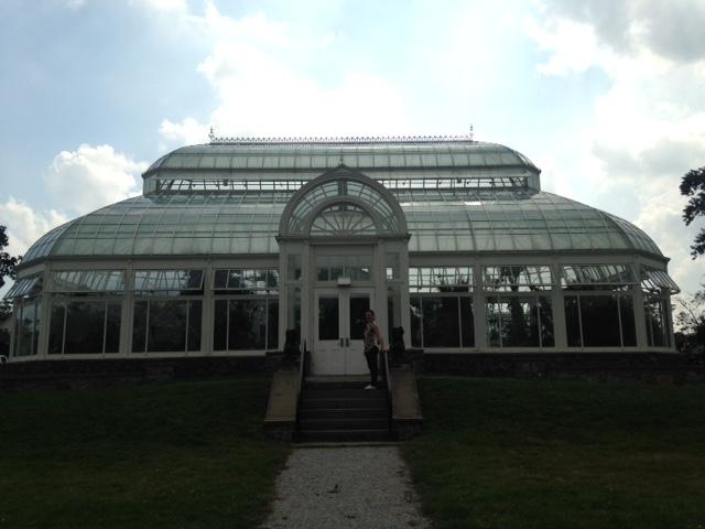 Duke Farms greenhouse