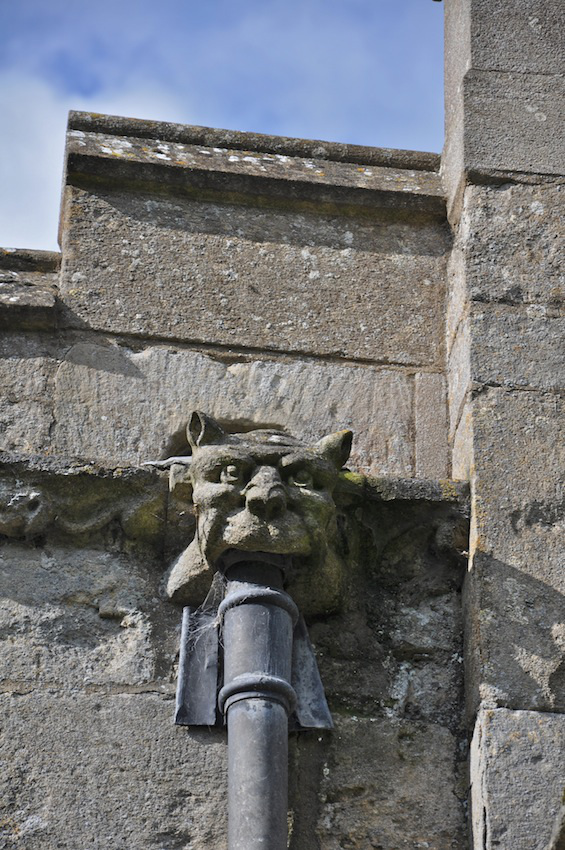 A gargoyle on Surfleet's Church in Lincolnshire