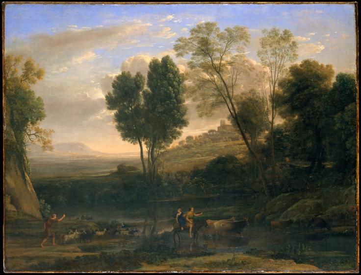 View of La Crescenza by Claude Lorrain