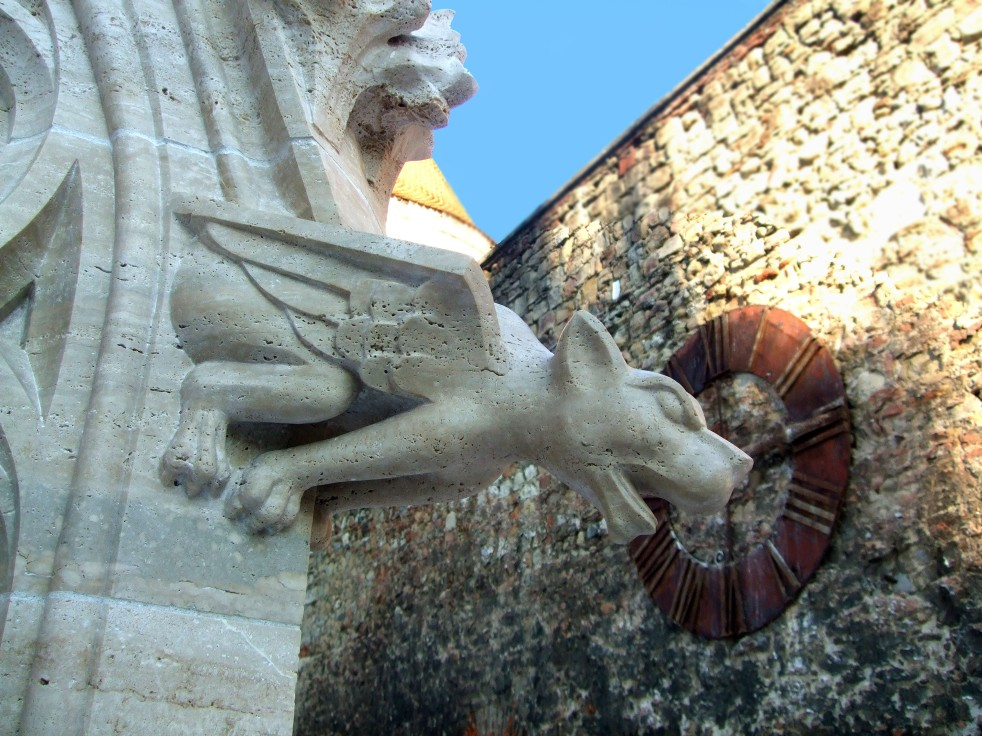 Gargoyle on Zagreb Cathedral
