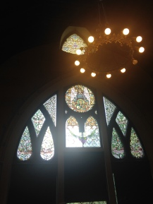 Lyndhurst stained glass