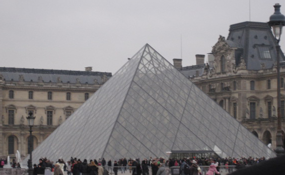 Louvre Museum pyramid