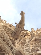 The dragon of the Rouen cathedral. Contributed by Harry.