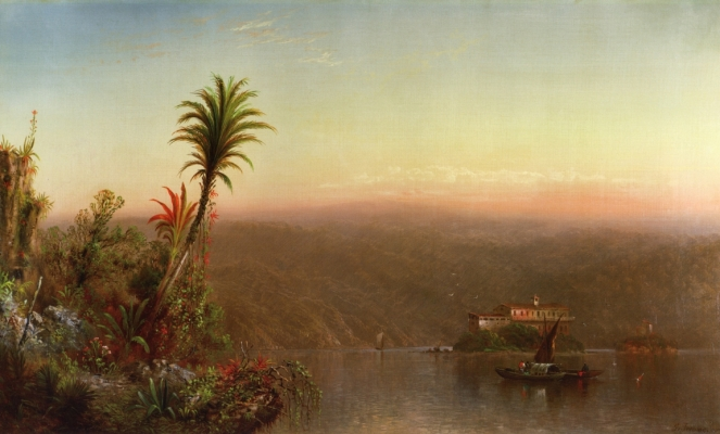 Elizabeth Gilbert Jerome, Tropical Sunset