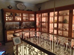 The butler's pantry, where china and silver were stored, is one of the most pleasant spaces in the whoe house.