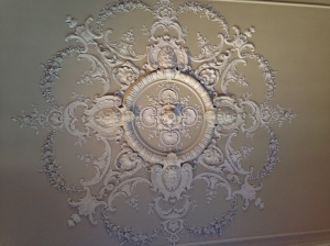 Marble House ceiling