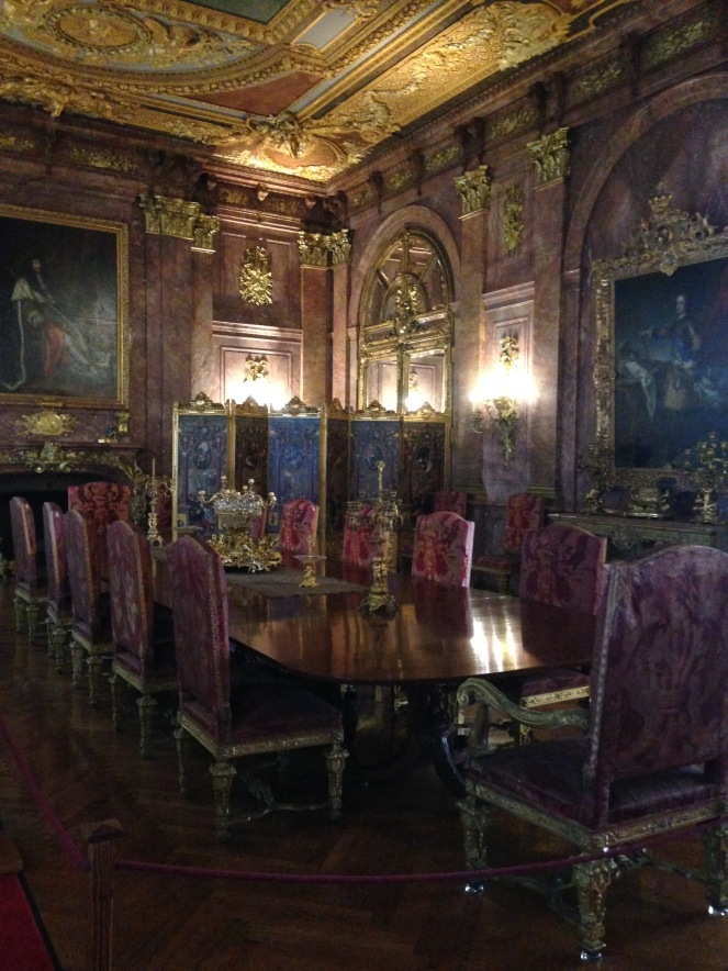 Marble House dining room