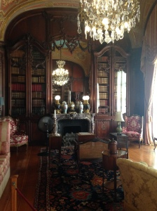 Marble House library