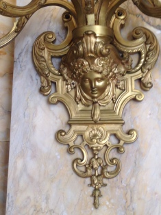 Marble House sconce
