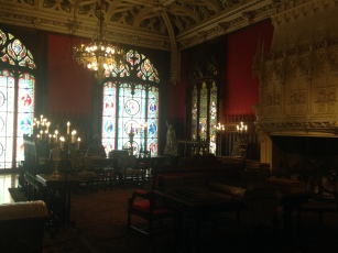 The magnificent Gothic Room.