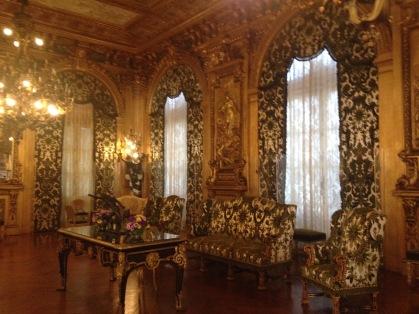 Marble House ballroom
