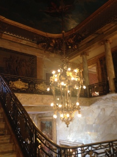 Marble House staircase
