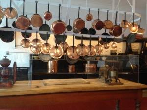 Marble House kitchen