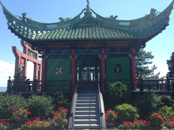 The Marble House's Chinese tea pavilion