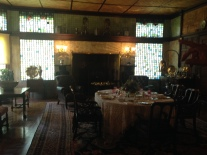 Kingscote dining room
