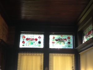 Kingscote stained glass 2