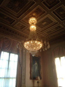Rosecliff chandelier