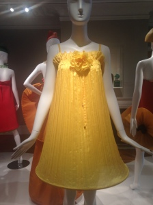 Pierre Cardin yellow dress