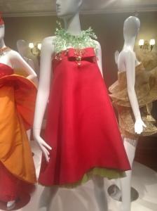Pierre Cardin red dress