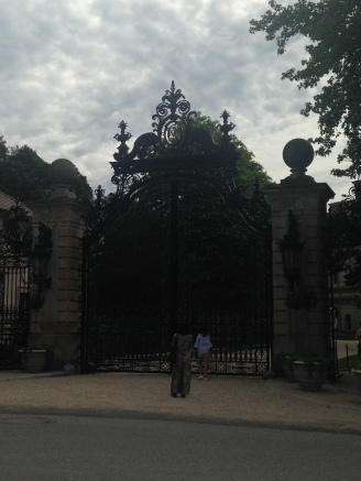 The Breakers front gate