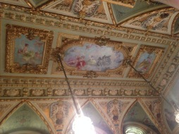The Breakers rococo ceiling