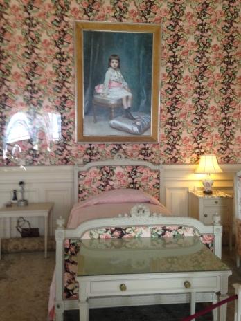 Gertrude Vanderbilt Whitney's bedroom