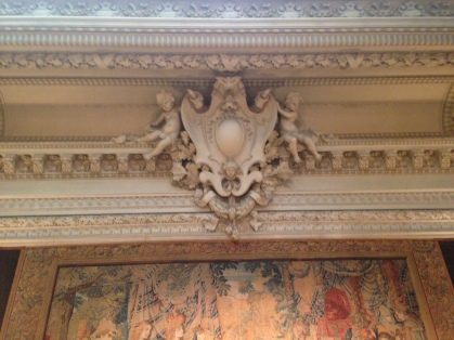 The Breakers carved ornament