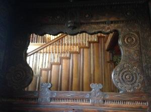 Isaac Bell House woodwork